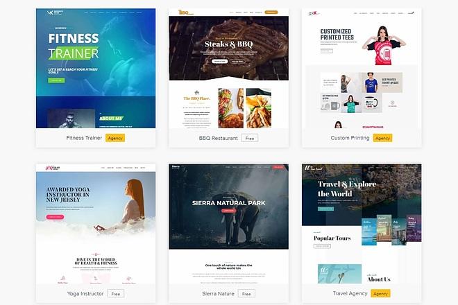 ПАК 1000 шаблонов и дополнений для WordPress 50 - kwork.ru