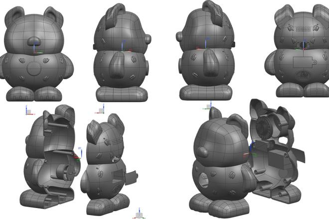 3D модели. Визуализация. Анимация 132 - kwork.ru