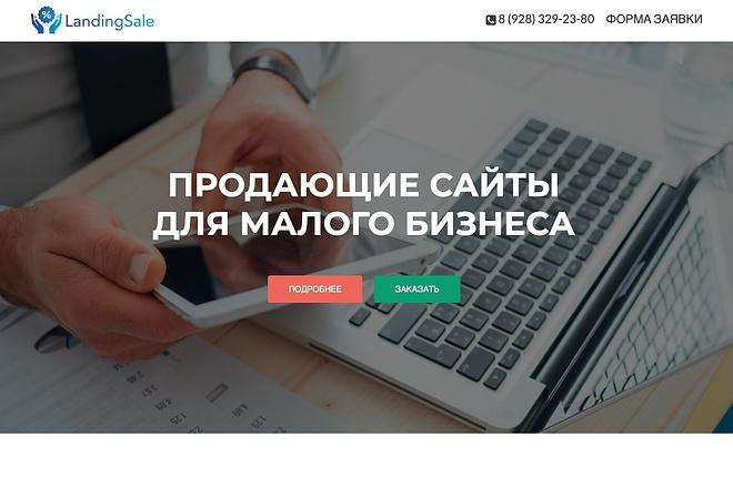 Создание одностраничника на Wordpress 17 - kwork.ru
