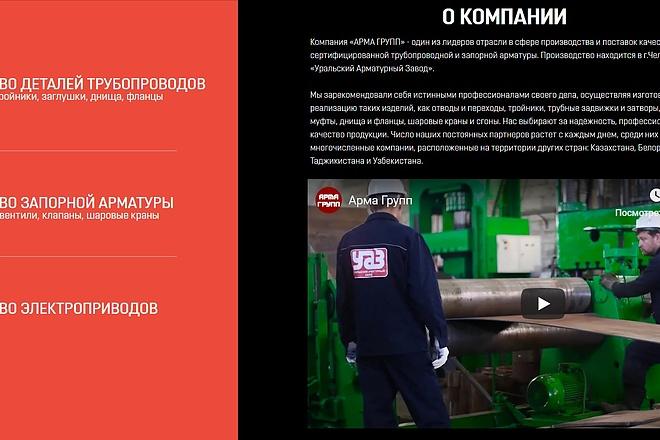 Создание сайта - Landing Page на Тильде 146 - kwork.ru