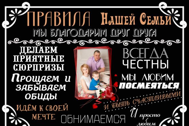 Сделаю макет плаката 1 - kwork.ru