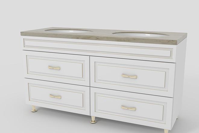 Визуализация мебели, предметная, в интерьере 30 - kwork.ru