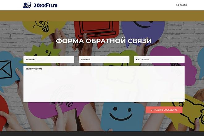 Создание одностраничника на Wordpress 30 - kwork.ru