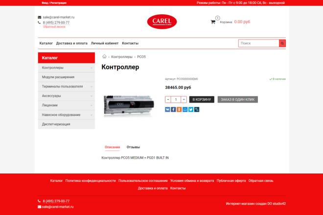 Профессионально создам интернет-магазин на insales + 20 дней бесплатно 1 - kwork.ru
