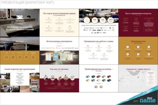 Разработаю маркетинг-кит компании - продающую презентацию 16 - kwork.ru