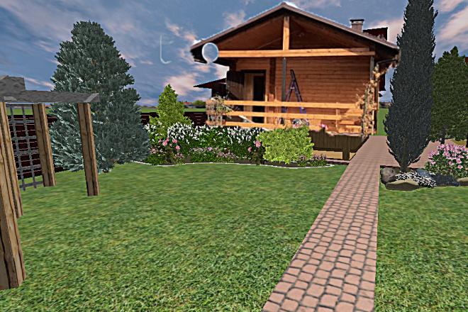 Создам 3D визуализацию ландшафта 6 - kwork.ru