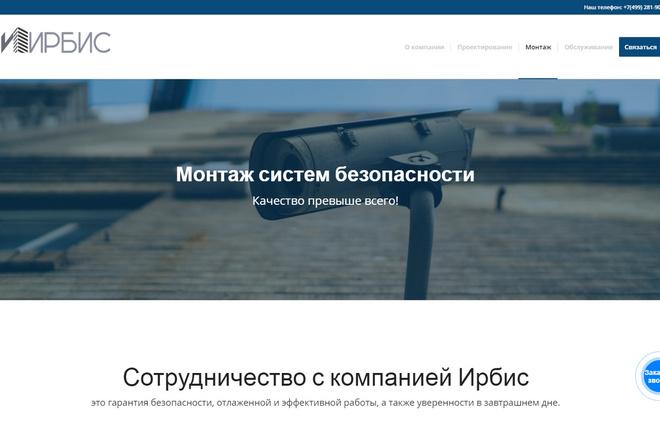 Создам современный адаптивный landing на Wordpress 18 - kwork.ru