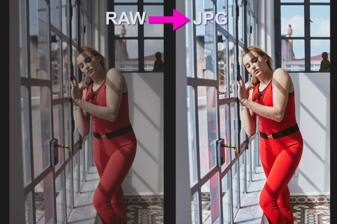 Для проф. фотографов - конвертация фото из RAW в JPG, 100 штук 14 - kwork.ru