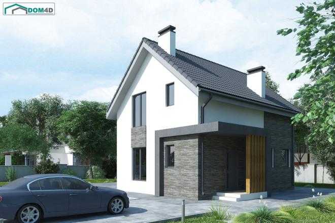 Качественная 3D визуализация фасадов домов 8 - kwork.ru