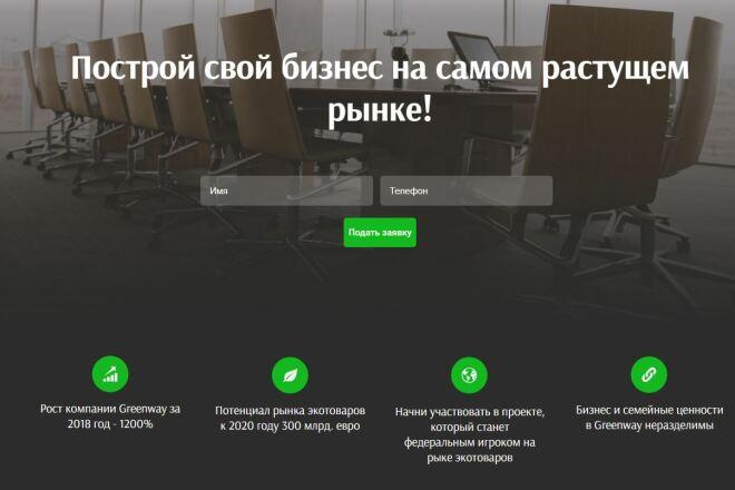 Скопировать Landing page, одностраничный сайт, посадочную страницу 90 - kwork.ru