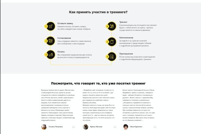 Вёрстка сайтов по доступной цене 74 - kwork.ru