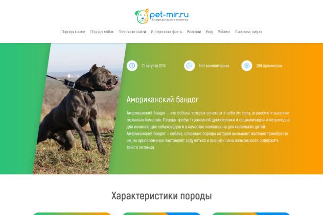 Дизайн для страницы сайта 40 - kwork.ru