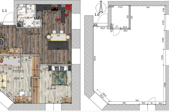 Интересные планировки квартир 29 - kwork.ru