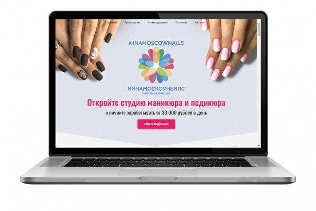 Продающий сайт - Лендинг под ключ, для любых целей 51 - kwork.ru