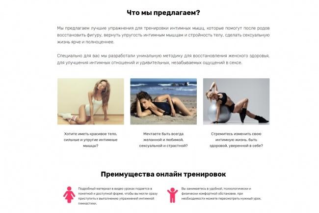 Продающий сайт - Лендинг под ключ, для любых целей 106 - kwork.ru
