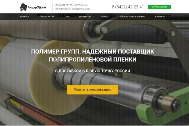 Продающий сайт - Лендинг под ключ, для любых целей 97 - kwork.ru