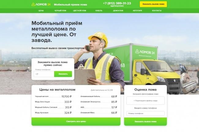 Продающий сайт - Лендинг под ключ, для любых целей 80 - kwork.ru