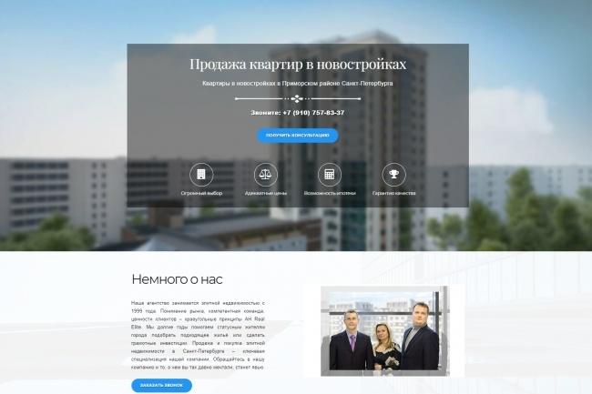 Продающий сайт - Лендинг под ключ, для любых целей 76 - kwork.ru