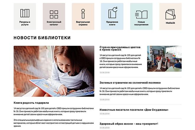 Вёрстка сайтов по доступной цене 143 - kwork.ru