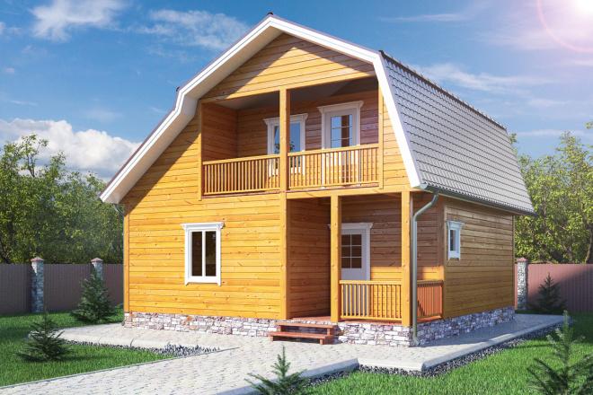3D визуализация разной сложности 87 - kwork.ru