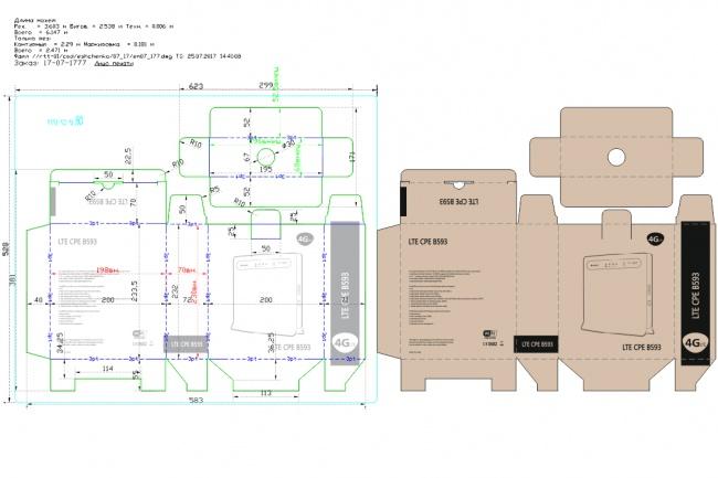Отрисовка в AutoCAD и Corel Draw 5 - kwork.ru