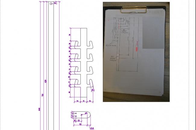 Отрисовка в AutoCAD и Corel Draw 4 - kwork.ru