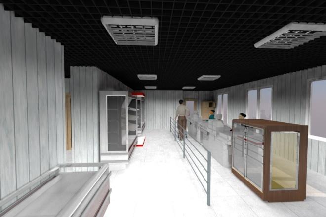 Чертежи + 3D визуализация 52 - kwork.ru