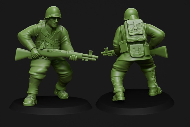 Создам 3D модель для печати или чпу 23 - kwork.ru