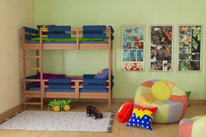 Выполню 3D визуализацию интерьера квартиры, дома, офисного помещения 7 - kwork.ru