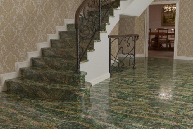 Выполню 3D визуализацию интерьера квартиры, дома, офисного помещения 10 - kwork.ru