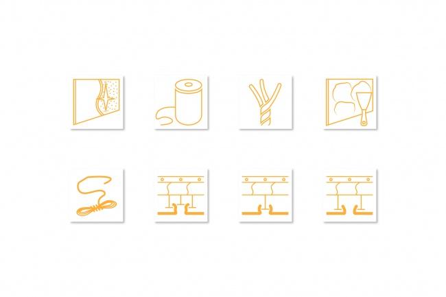 Иконки в уникальном стиле, для сайта и приложения Вашего Бренда 5 - kwork.ru