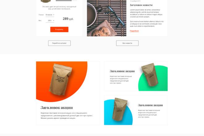 Дизайн любой страницы сайта + бонусы 14 - kwork.ru