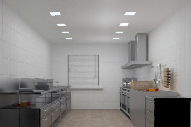 Сделаю визуализацию торговых залов, рабочих мест, квартир, домов 5 - kwork.ru