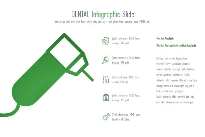 Инфографика на медицинскую тему. Шаблоны PowerPoint 16 - kwork.ru