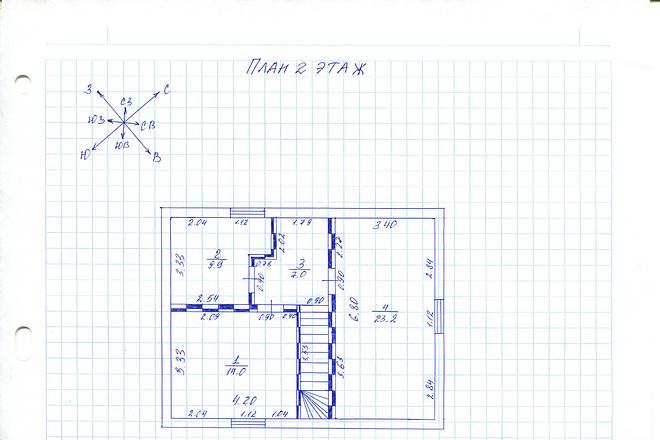 Оцифровка и создание чертежей в AutoCAD 4 - kwork.ru