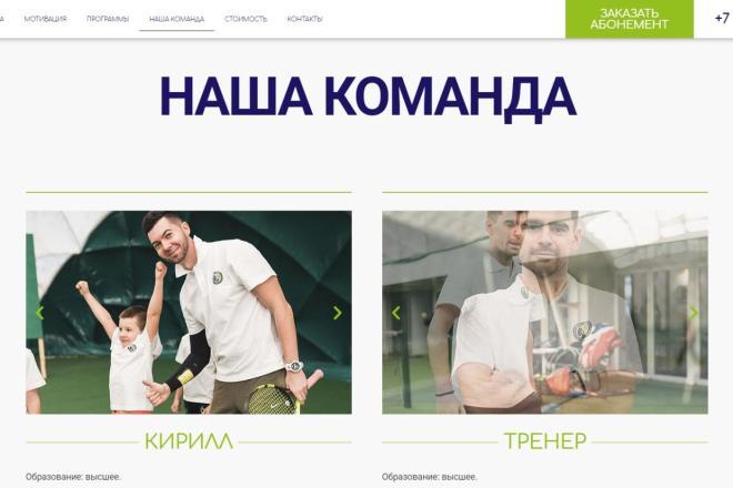 Лендинг для любых целей на Wordpress 5 - kwork.ru
