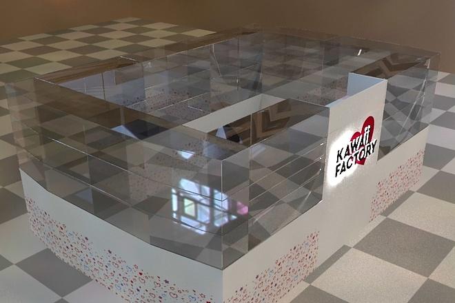 3D модель и визуализацию торгового места 8 - kwork.ru