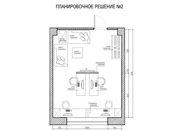 Планировочное решение вашего дома, квартиры, или офиса 42 - kwork.ru