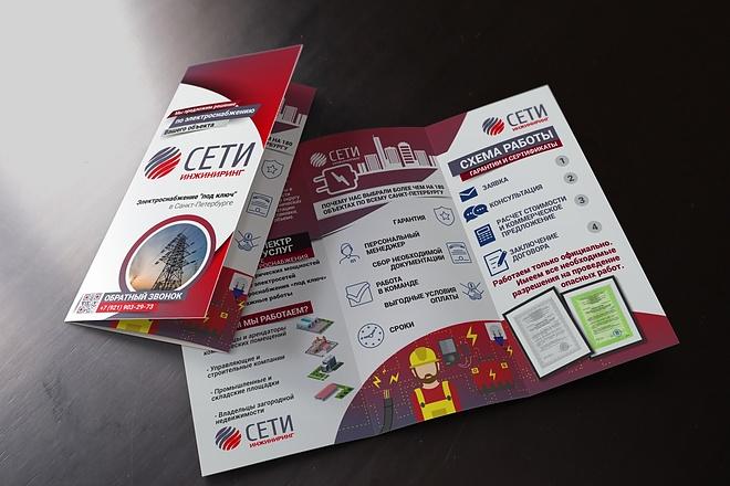 Разработка дизайна буклетов 7 - kwork.ru
