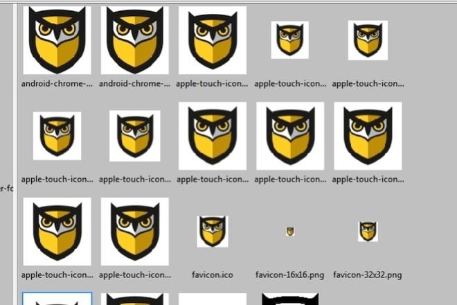 Создам универсальный Favicon для всех устройств и браузеров 22 - kwork.ru