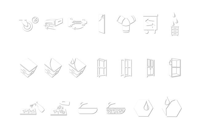Иконки в уникальном стиле, для сайта и приложения Вашего Бренда 8 - kwork.ru