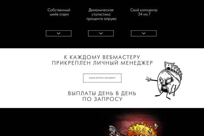 Верстка страниц по макетам psd, sketch, figma 11 - kwork.ru