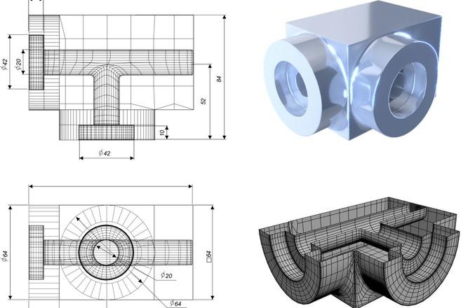 Сделаю 3D модель, текстурирование и визуализацию 81 - kwork.ru