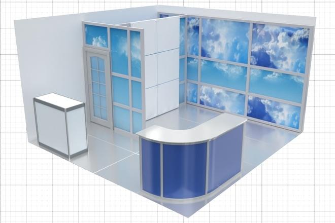 Сделаю 3D модель, текстурирование и визуализацию 66 - kwork.ru