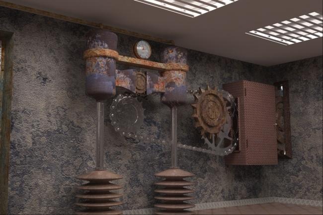 Сделаю 3D модель, текстурирование и визуализацию 131 - kwork.ru