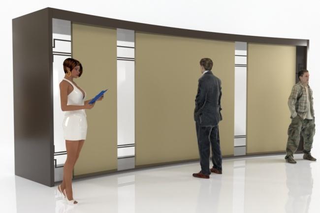 Сделаю 3D модель, текстурирование и визуализацию 112 - kwork.ru
