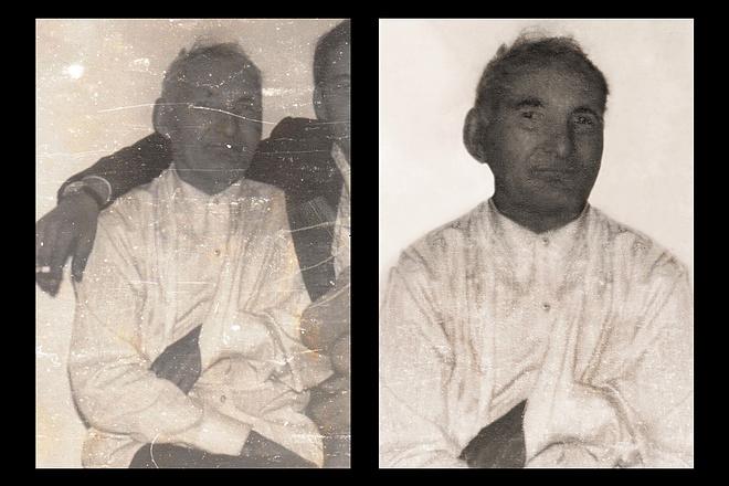 Реставрация старых фото 10 - kwork.ru