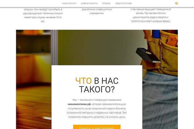 Лендинг для любых целей на Wordpress 64 - kwork.ru