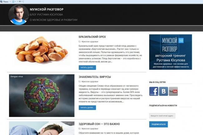 Сделаю сайт на WordPress 12 - kwork.ru