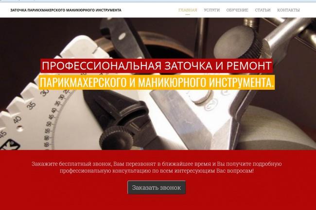 Сделаю сайт на WordPress 11 - kwork.ru